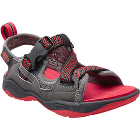 Keen Rock Iguana Chaussures Enfant, magnet/racing red